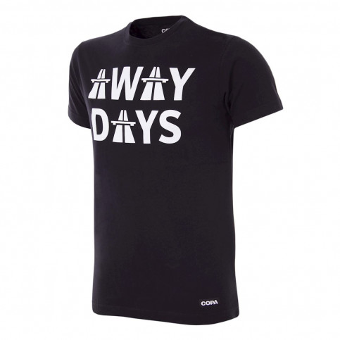 Away Days T-Shirt | Black