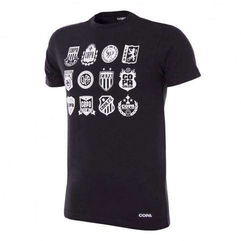 COPA Crests T-Shirt | Black
