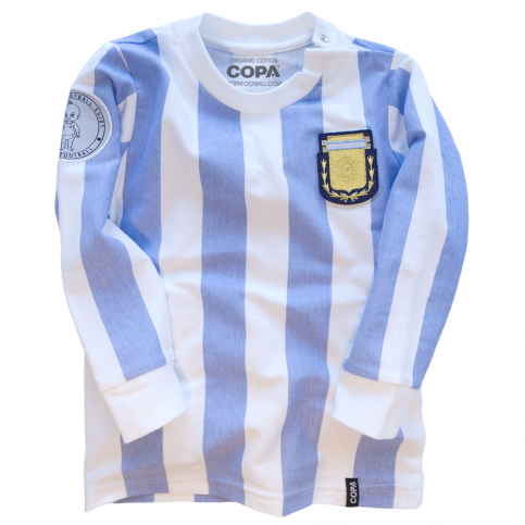 Argentina 'My First Football Shirt' Long Sleeve