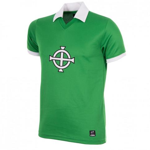 George Best Northern Ireland 1977 Short Sleeve Retro Football Shirt