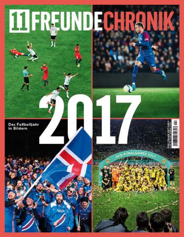 11FREUNDE Chronik 2017