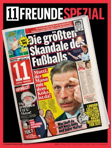 11FREUNDE SPEZIAL - Die größten Skandale des Fußballs