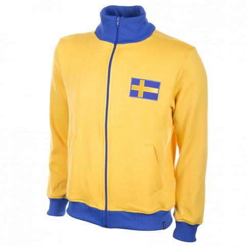 Sweden 1970's Retro Football Jacket