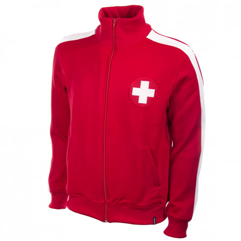 Switzerland 1960's Retro Football Jacket