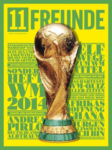 11FREUNDE Ausgabe #151 - WM-Sonderheft 2014
