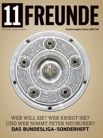 11FREUNDE Ausgabe #069 - Bundesliga-Sonderheft Saison 2007/08