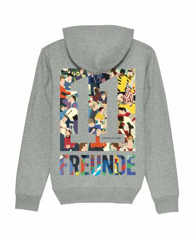 Hoodie - 11FREUNDE Clash (Fairwear & Bio-Baumwolle