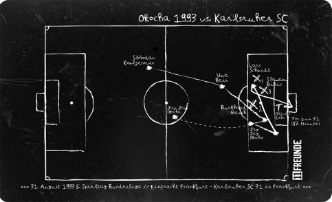 Frühstücksbrettchen: Okocha 1993