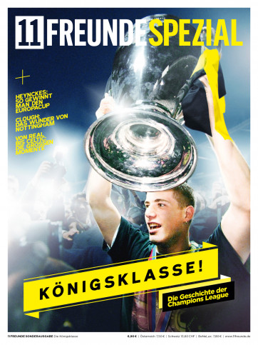 11FREUNDE SPEZIAL - Die Geschichte der Champions League (BVB-Cover)