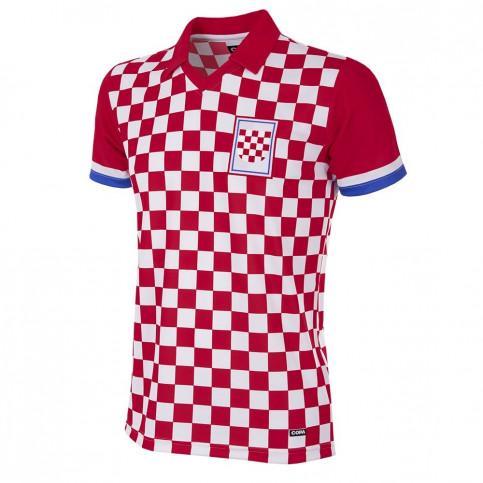 Croatia 1992 Short Sleeve Retro Football Shirt