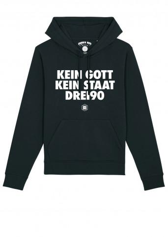 Hoody Kein Gott Kein Staat Drei90