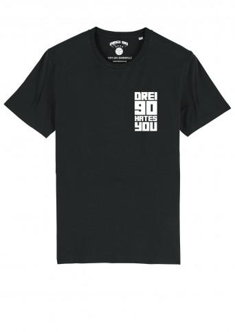T-Shirt Drei90 Hate (Vorbestellung)