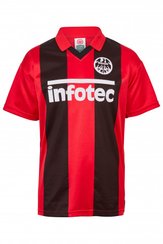Eintracht Frankfurt Trikot 1981 Score Draw Retro Trikot Fußball