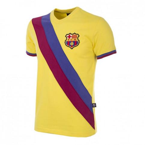 FC Barcelona Away 1978 - 79 Short Sleeve Retro Football Shirt