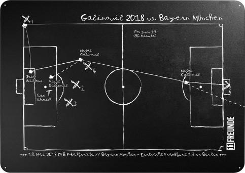 Magnettafel: Gacinovic 2018 - in 2 Varianten - 11FREUNDE SHOP