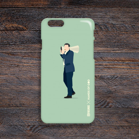 Smartphonecase: Stumpen-Rudi - Hands Of God x 11FREUNDE
