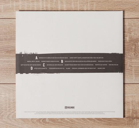 Doppel-Vinyl-LP: 90 Minuten Hardcore - 11FREUNDE Lesereise Live (limited Edition)
