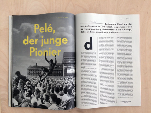 11FREUNDE SPEZIAL - DDR - Sonderheft bestellen