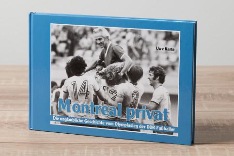 Montreal privat - Fußball Buch - 11FREUNDE SHOP