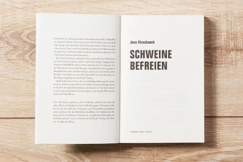 Schweine befreien - Jens Kirschneck - 11FREUNDE SHOP