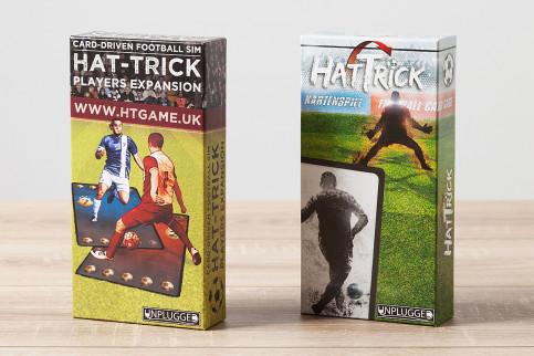 Bundle: Taktik-Kartenspiel: HAT-TRICK (Basisspiel) + Players-Expansion - 11FREUNDE SHOP
