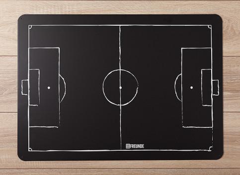 Magnet- / Taktiktafel: schwarz - 11FREUNDE SHOP