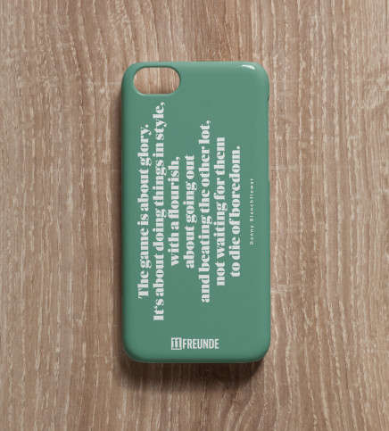 Zitat: Doing Things In Style - Smartphonehülle - 11FREUNDE SHOP