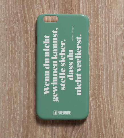 Zitat: Gewinnen-Verlieren - Smartphonehülle - 11FREUNDE SHOP