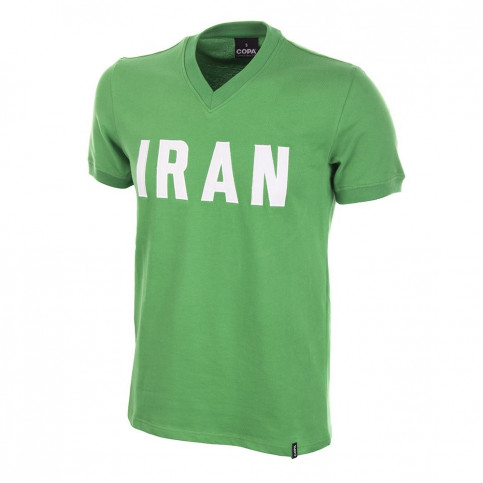 Iran 1970's Short Sleeve Retro Football Shirt