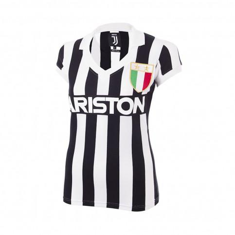 Juventus 1984 - 85 Womens Retro Football Shirt