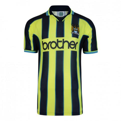 Manchester City Trikot Wembley 1999 - Score Draw Retro Trikot - Fußball Fan Artikel - 11FREUNDE SHOP