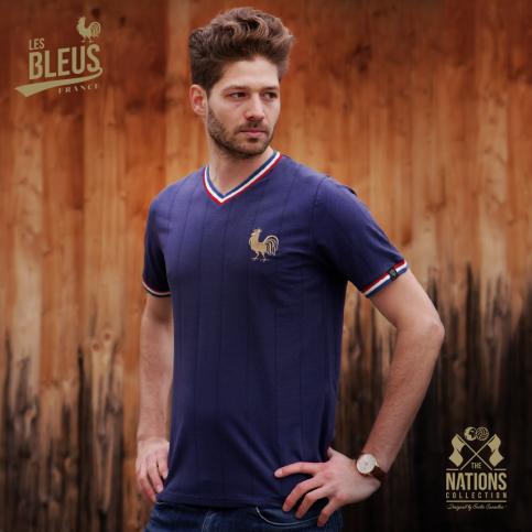 France - Les Bleus for Men - THE NATIONS designed by Emilio Sansolini - 11FREUNDE SHOP