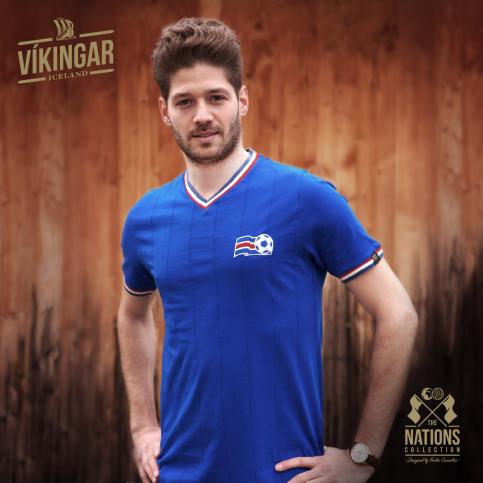 Iceland - Vikingar for Men - THE NATIONS designed by Emilio Sansolini - 11FREUNDE SHOP