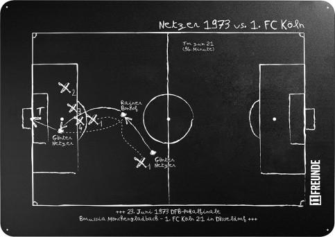 Magnettafel: Netzer 1973 - 11FREUNDE SHOP