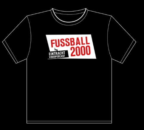 T-Shirt Fussball 2000