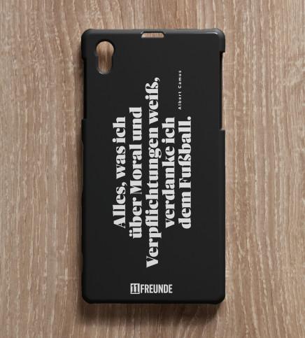 Zitat: Moral - Smartphonehülle - 11FREUNDE SHOP