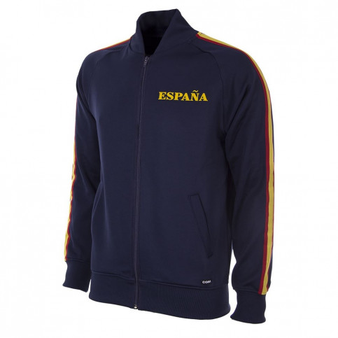 Spain 1978 Retro Football Jacket (blue)