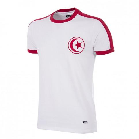 Tunisia 1970´s Short Sleeve Retro Football Shirt