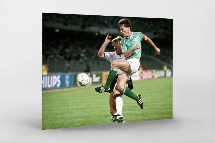 Lothar gegen England WM 1990 - 11FREUNDE BILDERWELT