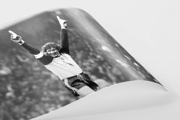 Toni Schumacher Schwarz/weiß-Foto - 11FREUNDE BILDERWELT