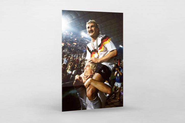 Jürgen Klinsmann Rudi Völler 11FREUNDE BILDERWELT