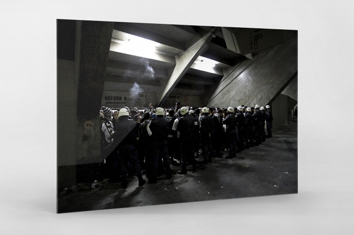 Police And Fans At The Stadium - Gabriel Uchida - 11FREUNDE BILDERWELT