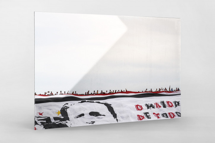 Big Flag And Fans - Gabriel Uchida - 11FREUNDE BILDERWELT