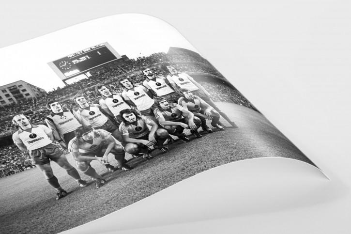 11FREUNDE SHOP - Fußball Foto Wandbild - Braunschweig im Bernabeu