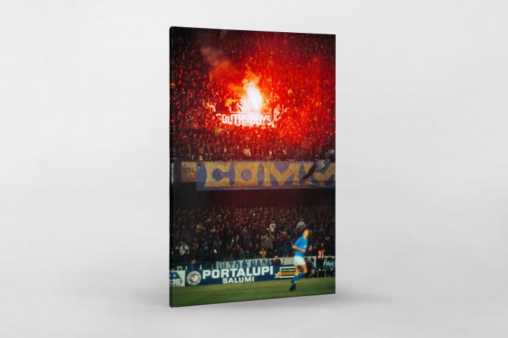 Napoli Fans - Fußball Foto Wandbild - 11FREUNDE SHOP
