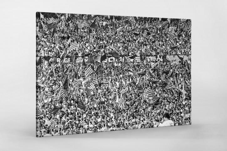 Barca Fans in Basel 1 - 11FREUNDE SHOP - Fußball Foto Wandbild