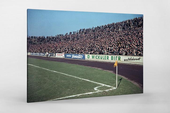 Tribüne Stadion am Uhlenkrug - 11FREUNDE SHOP - Fußball Foto Wandbild