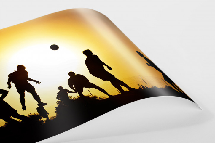 Unter der Sonne Zyperns - 11FREUNDE SHOP - Fußball Foto Wandbild