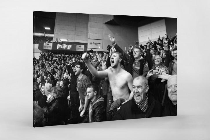 Unerwarteter Jubel - Fußball Wandbild - 11FREUNDE SHOP