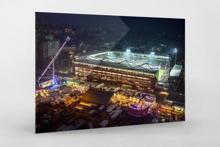 Millerntor und Hamburger Dom (2) - 11FREUNDE SHOP - FC St. Pauli - Fußball Fotos als Wandbild bestellen